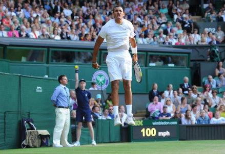 Nick Kyrgios, 19 anni: ha battuto Rafa Nadal agli ottavi di finale