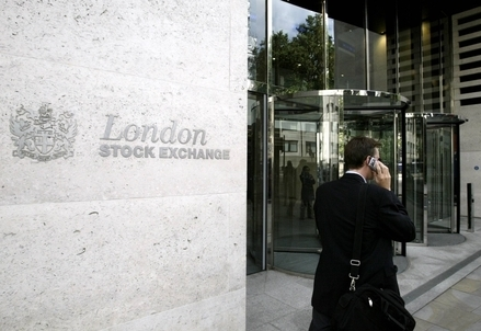 La Borsa di Londra (Infophoto)