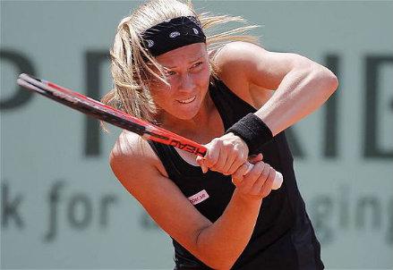 Johanna Larsson, 25 anni, attualmente numero 99 del ranking WTA