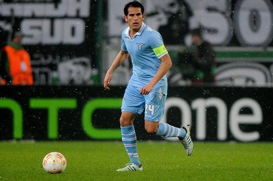 Cristian Ledesma, capitano della Lazio (Infophoto)