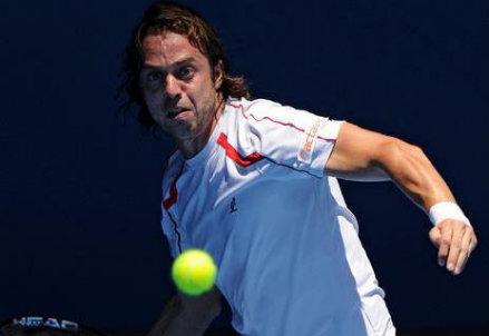 Paolo Lorenzi (32 anni) è numero 83 del ranking ATP (Infophoto)