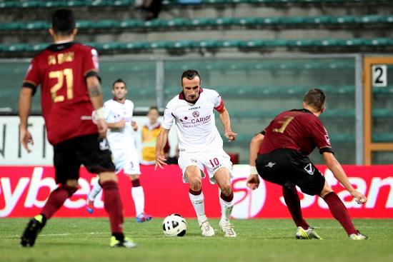 Andrea Luci, capitano del Livorno (Infophoto)