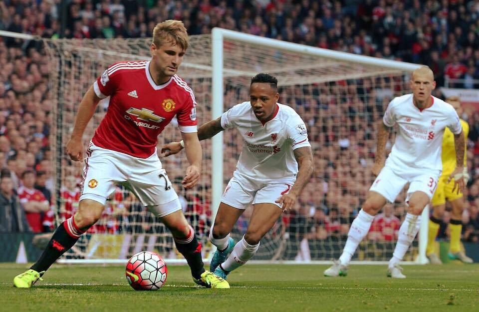 Luke Shaw, 20 anni (dall'account ufficiale facebook.com/lukeshawofficial)