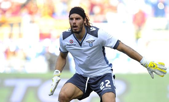 Federico Marchetti, portiere della Lazio (Infophoto)