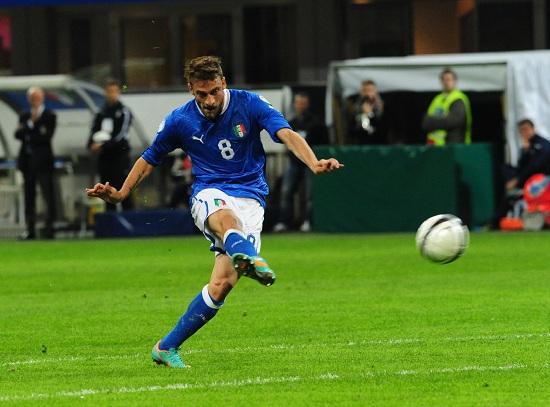 Claudio Marchisio, centrocampista della Juventus e della Nazionale (Infophoto)