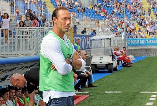 Dario Marcolin, 43 anni, allenatore del Catania ed ex mister del Modena (INFOPHOTO)