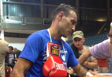 Emiliano Marsili, 38 anni, campione europeo dei pesi leggeri