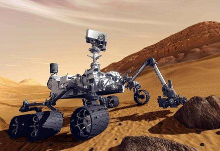 La sonda Curiosity, foto InfoPhoto