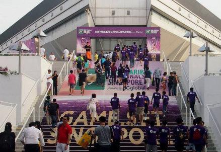 L'ingresso delle WTA Finals a Singapore