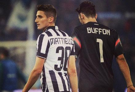 Federico Mattiello, 19 anni, qui ai tempi della Juventus nella prima parte di stagione