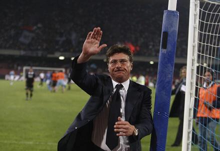 Walter Mazzarri, allenatore del Napoli (Infophoto)