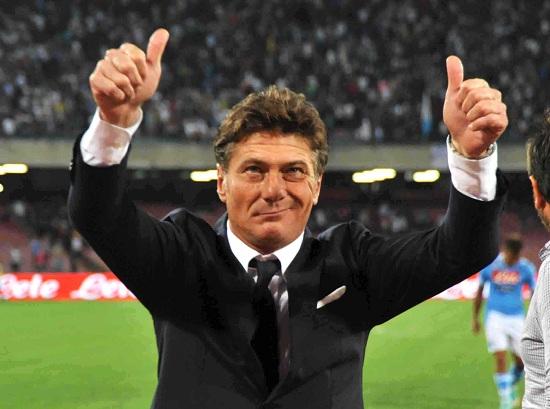 Walter Mazzarri: seconda sfida al Bologna in tre giorni (Infophoto)