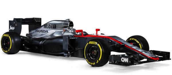 La nuova McLaren MP4/30 per il Mondiale F1 2015