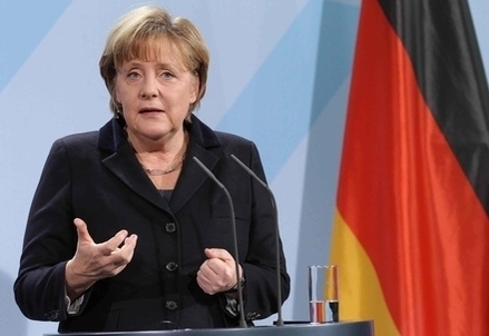 La Cancelliera Angela Merkel (Foto: Infophoto)