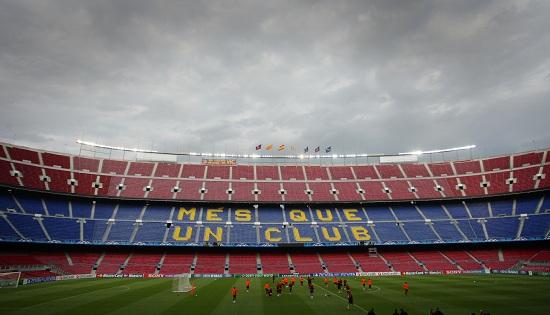 Il Camp Nou di Barcellona (Infophoto)