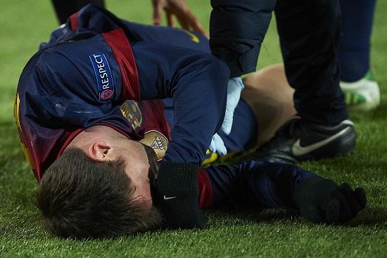 Leo Messi: per lui gol e infortunio (Infophoto)