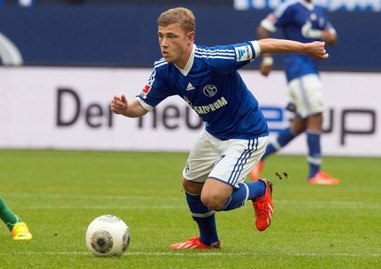 Max Meyer, trequartista dello Schalke 04 (Infophoto)