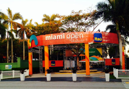 (dall'account ufficiale facebook.com/MiamiOpenTennis)