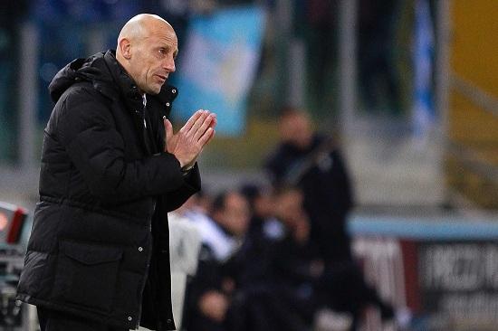 Domenico Di Carlo, 51 anni, allenatore dello Spezia (INFOPHOTO)