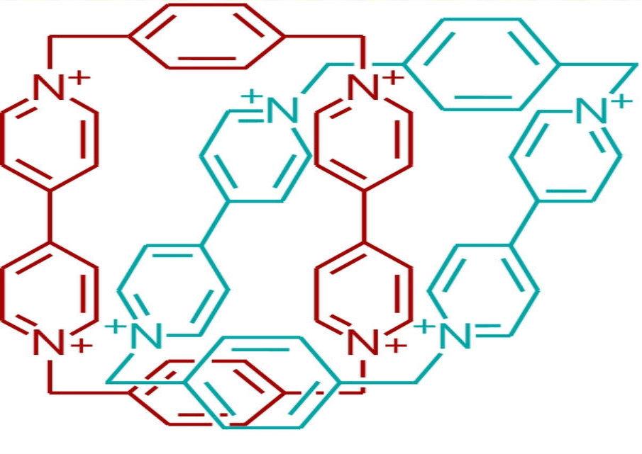 Gli anelli della molecola di catenano
