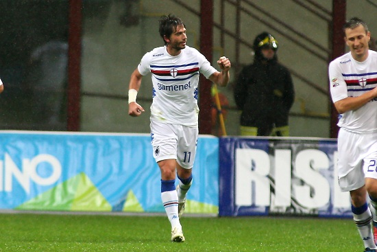 Gianni Munari, centrocampista della Sampdoria (Infophoto)