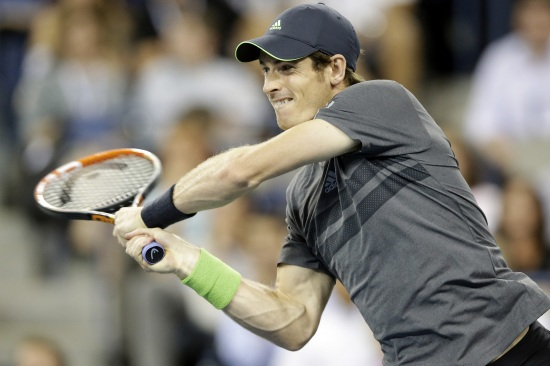 Andy Murray, 28 anni (Infophoto)