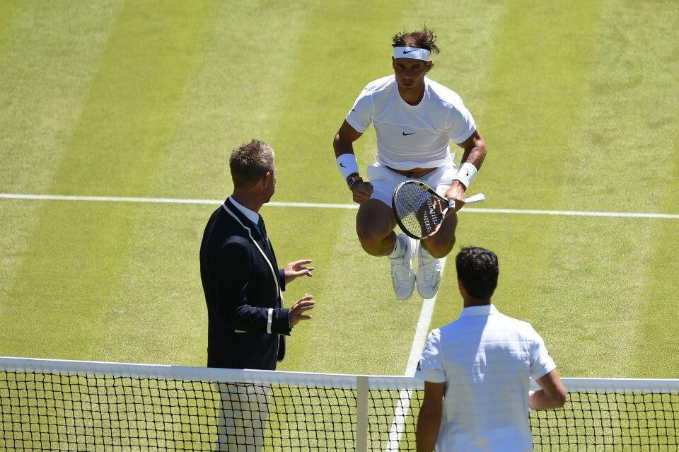 Rafa Nadal, 29 anni (dall'account ufficiale facebook.com/wimbledon)