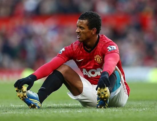 Nani, esterno d'attacco del Manchester United (Foto Infophoto)