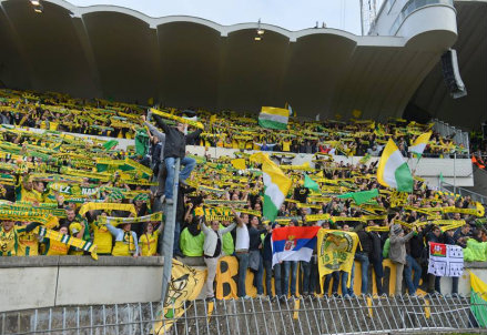 tifosi del Nantes (infophoto)