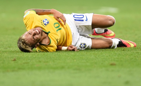 Neymar, attaccante del Brasile (Foto Infophoto)
