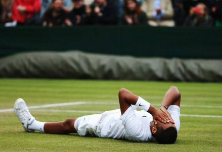Nick Kyrgios, nato il 27 aprile 1995, ha battuto Rafa Nadal a Wimbledon