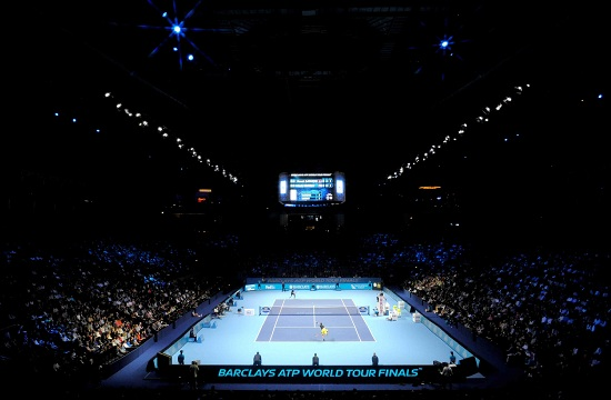 La O2 Arena, teatro degli ATP Championships (Infophoto)