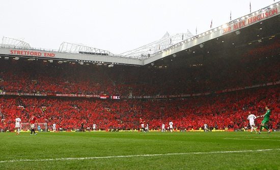 Lo stadio Old Trafford di Manchester (INFOPHOTO)