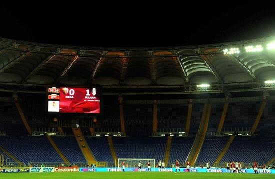 Lo stadio Olimpico (Infophoto)