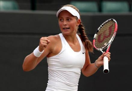 Jelena Ostapenko, 18 anni (dall'account Twitter @MatchTenis)