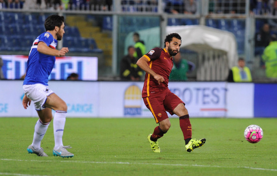 Mohamed Salah, il grande ex (Infophoto)
