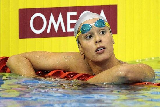 Federica Pellegrini, 24 anni (Infophoto)