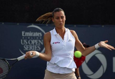 Flavia Pennetta, 32 anni, attuale numero 12 del ranking WTA