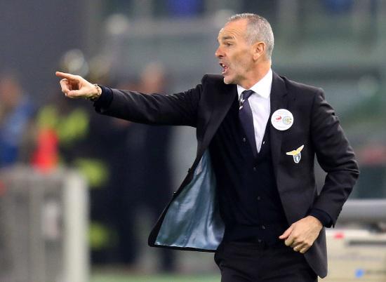 Stefano Pioli, allenatore della Lazio (Infophoto)