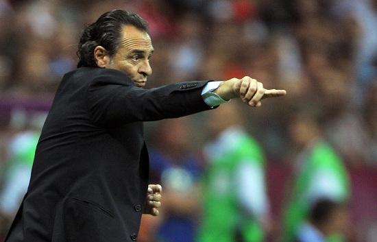 Cesare Prandelli è imbattuto in gare ufficiali con l'Italia (Infophoto)