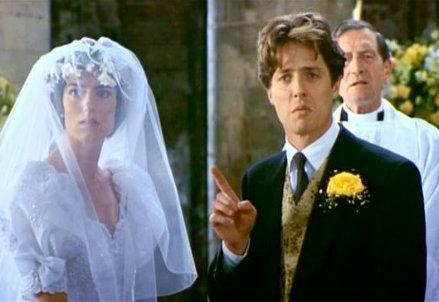 quattro matrimoni e un funerale/ il film in onda 8 giugno su la7