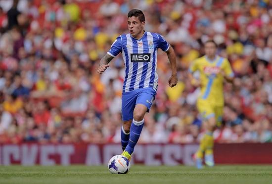 Juan Fernando Quintero con la maglia del Porto (Infophoto)