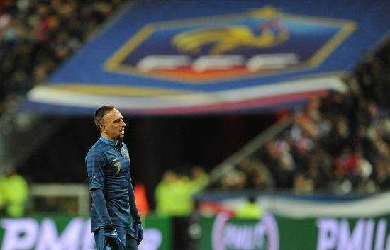 Franck Ribery, 30 anni, attaccante della Francia (INFOPHOTO)