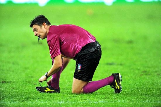 Gianluca Rocchi, 40 anni, arbitro della sezione di Firenze (INFOPHOTO)