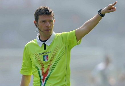 Gianluca Rocchi, 40 anni (Infophoto)