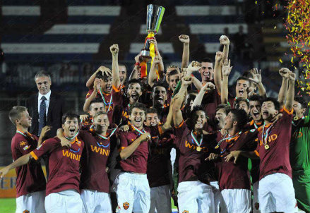 Dall'account facebook.com/AS-ROMA-PRIMAVERA