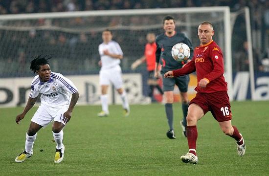 Un'immagine di Roma-Real Madrid della Champions League 2007-2008 (Infophoto)