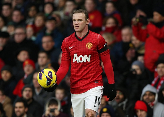 Rooney, attaccante United (Infophoto)