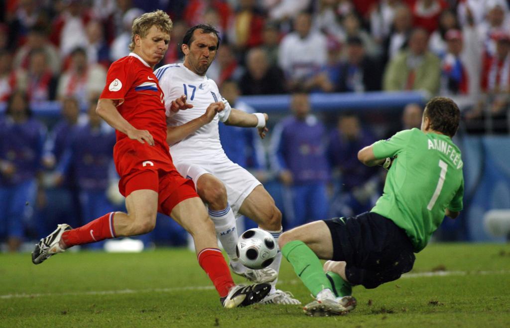 Un'immagine della partita giocata nel 2008 (Infophoto)