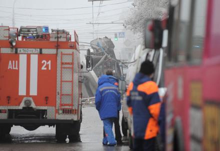 A Volgograd dopo il secondo attentato (Infophoto)